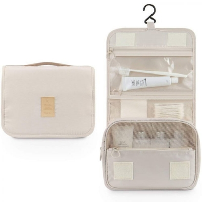 Organizers - Make-Up, Toilettas - Beige, Creme