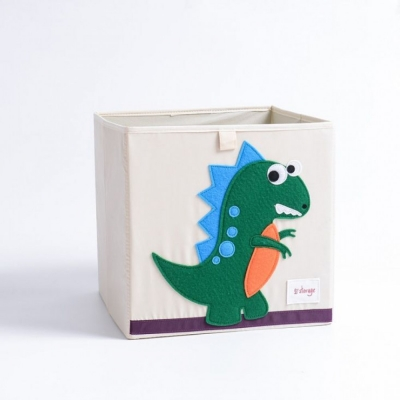 Container - Was- Speelgoed mand (33x33x33cm) - Dinosaurus (D81)