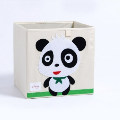 Container - Was- Speelgoed mand (33x33x33cm) - Panda