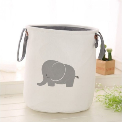 Container - Tas - Wasmand - Speelgoed mand - Olifant (Z1)